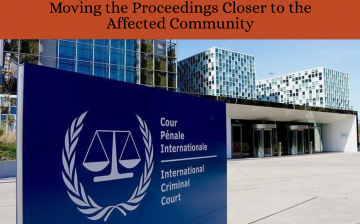 Rohingya Victims ask the ICC to Consider Moving the Proceedings Closer to the Affected Community